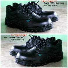 Sepatu Boots Kickers Black Kulit Hitam Kerja Safety Ujung Depan Besi Sol Anti Bara Pabrik Gudang Touring Motor#Artis Anak Jalanan#Rcti#Polisi#Tni#Satpam Promo Bukalapak