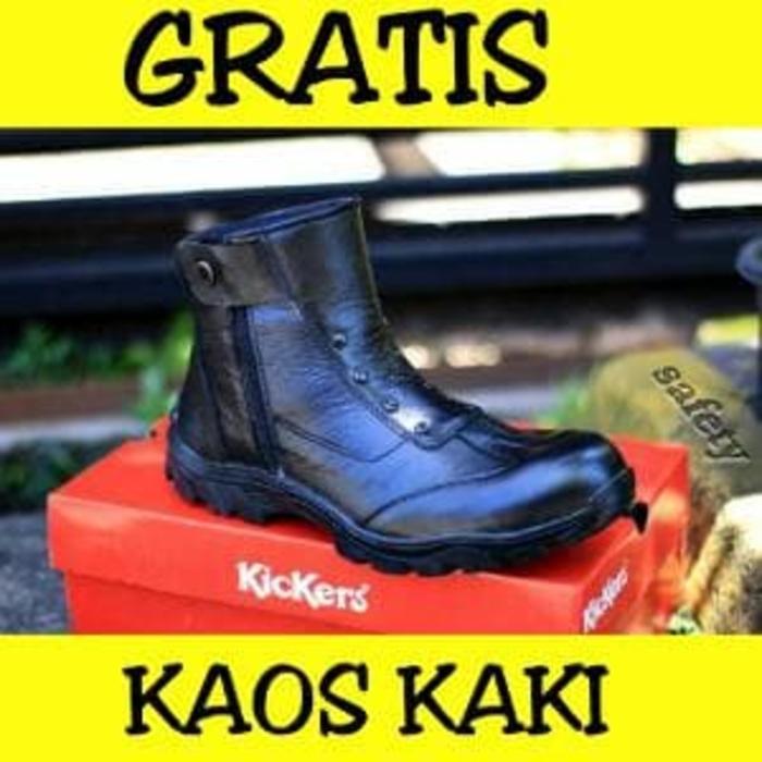Sepatu Boots Hand Made Safety Sefty Ujung Besi