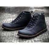 Beli Mrj Sepatu Brodo Boots Mr Joe Original Sepatu Boots Pria Mrj Barra Hitam