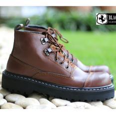 Sepatu Boots Original Pria / Tactikal Boots Casual Trendy - BLACK MASTER UNDERGROUND 02 - Hitam / Coklat / Abu-abu