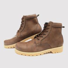 Sepatu Boots Pria Adabos Crypton Safety - Sepatu Boot Safety