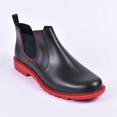 Sepatu Boots Pria AP Hobby N Work Sepatu Formal Casual Biker By AP BOOT Pendek PVC Anti Air