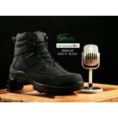 Sepatu Boots Pria Argonda Armour Safety - Black 908