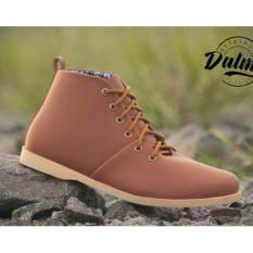 Sepatu Boots Pria Dalmo Brodo - Tan