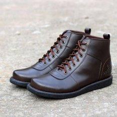 Pusat Jual Beli Sepatu Brodo Boots Brodo Pria Dr Becco Jgr Brown Jawa Barat