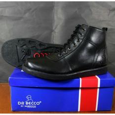 Diskon Sepatu Brpdp Boots Pria Terlaris Dr Becco Jgr Black