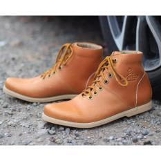 Beli Sepatu Boots Pria Dr Becco Original Sepatu Brodo Sepatu Kulit Asli Pull Up Dr Becco Pazero Tan Pake Kartu Kredit