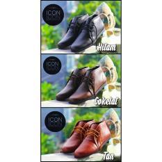 Sepatu Boots Pria Icon Wings / Hiking / Gunung / Touring / Semi Boots / Casual / Cowok Murah / Ori