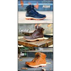 Sepatu Boots Pria Kicker ARL / Hiking / Gunung / Touring / Semi Boots / Casual Cowok / Safety Murah