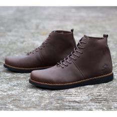 Sepatu Boots Pria KULIT ASLI WOLF Brodo