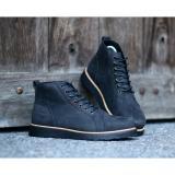 Sepatu Brodo Boots Pria Kulit Asli Crazyhorse Bradleys Cordovan Black Diskon Akhir Tahun