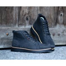 Harga Sepatu Brodo Boots Pria Kulit Asli Crazyhorse Bradleys Cordovan Black Bradleys Jawa Barat