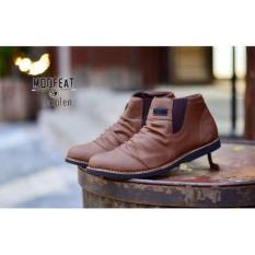 Toko Sepatu Boots Pria Moofeat Coolen Leather Termurah Di Dki Jakarta