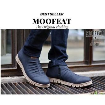 Beli sekarang Sepatu Boots Pria Moofeat Jipper Anthoni Original Black Sepatu  Boots casual Kulit Pria Moofeat Original HITAM Coklat Navy OCEAN Cevany ... d5ad571a74