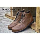 Jual Sepatu Boots Pria Moofeat Leather Brown Mo 001 Sepatu Gunung Tracking Hiking And Touring Antik