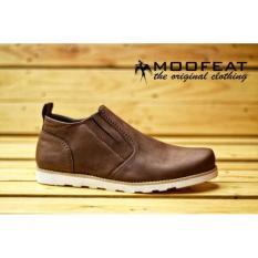 Sepatu Boots Pria Moofeat Old Brown MO-001 (Sepatu Gunung a52e2bcd4d