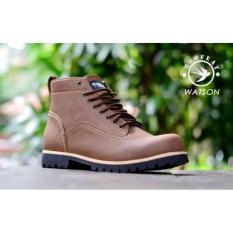 Beli Sepatu Boots Pria Moofeat Watson Sepatu Casual Free Kaos Kaki Online Murah