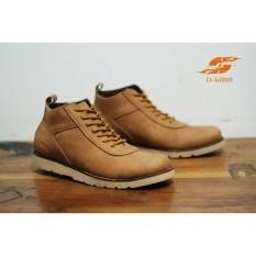 Sepatu boots Pria Original D island Brodo ventura