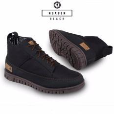 Toko Sepatu Boots Pria Prodigo Ngaben Kerja Tracking Keren Gaya Sneakers Casual Santai Original Murah Promo Terlaris Slip On Slop Loafers Cowok Hitam Prodigo Footwear Online