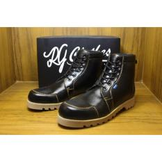 Perbandingan Harga Sepatu Boots Pria Rgclothes Venuto Safety Handmade Di Jawa Timur