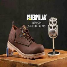 Sepatu Boots Pria Safety TERMURAH SEPATU BOOT PENDEK SAFETY CATERPILLAR NITROGEN LOW BOOTS STEEL TOE Original