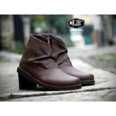 Beli Sepatu Boots Pria Sepatu Kerja Sepatu Casula Sepatu Pormal Sepatu Sekolah Sepatu Sport Sepatu Safety Brown Online