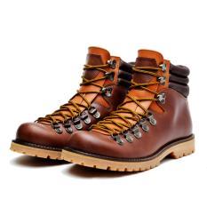 Sepatu Boots (Real Picture) Pria Asli Kulit Murah Berkualitas DeluxePull Up Waterproof