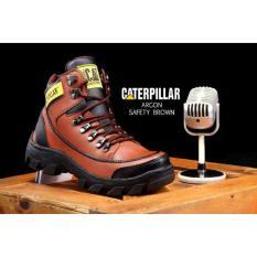 Spesifikasi Sepatu Boots Argon Safety Brown Scriptls Terbaru