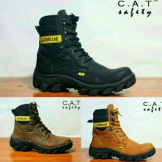 Sepatu Boots Safety Caterpillar Kulit ADF Boot Tracking Murah