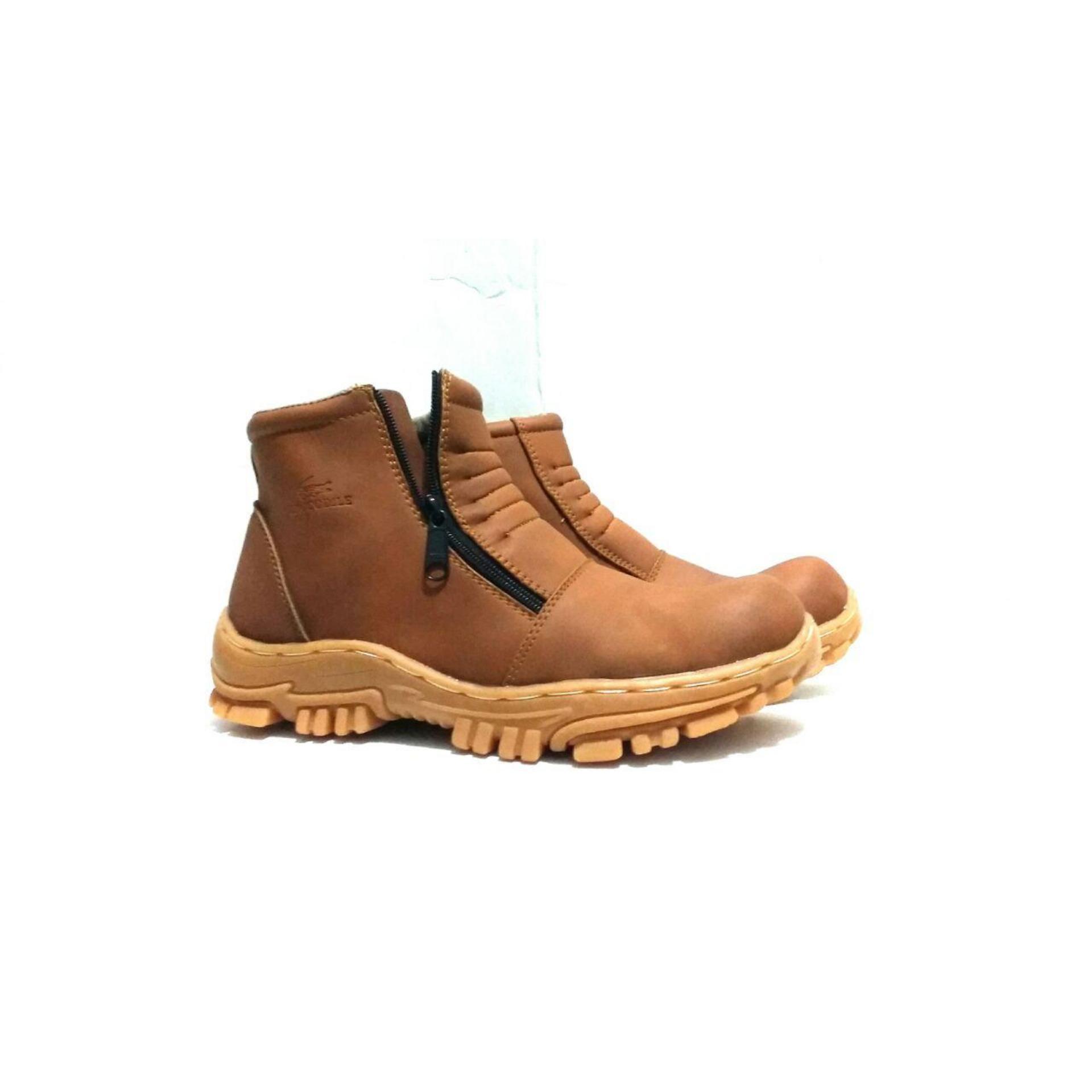 sepatu boots crocodile safety proyek lapangan hiking touring tracking kerja proyek formal