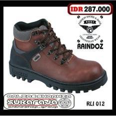 Sepatu Boots Safety Kulit Sepatu Boots Outdoor Sepatu Cibaduyut - 6V5tbs