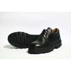 Spesifikasi Sepatu Boots Safety Pria Model Pendek Untuk Kerja Santai Bahan Kulit Sapi Asli 100 Murah