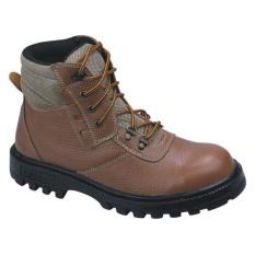 Sepatu Boots / Safety Shoes Pria Kulit Untuk Touring & Kerja - CRI 010