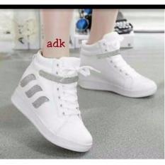 Berapa Harga Sepatu Boots Wanita Fashion Putih Mix Abu U7E 98 Di Jawa Barat