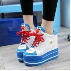 Sepatu Boots Wanita Korea Doraemon SBO313