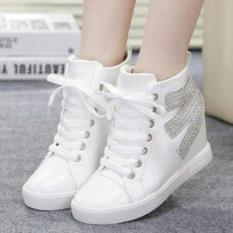 Sepatu Boots Wanita Murah Model Terbaru E Pasir Putih