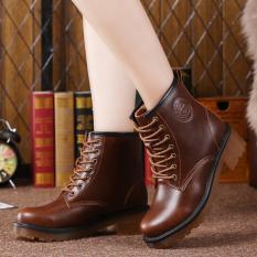 Sepatu Bot Sepatu Wanita Dijual Panas Sepatu Bot Musim Semi Yang Tahan Lama Sepatu Musim Gugur And Musim Dingin Hot Sale Kaus Fesyen Sepatu Bot Kulit Martin Boots Tahan Lama Ankle Boots Musim Gugur dan Musim Dingin Sepatu