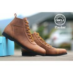 new Sepatu Brodo Leather Men's Original - Sepatu Boots Pria