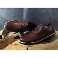 Sepatu Brodo Leather Original Dr.Becco ACORD ( Merah Bata )