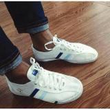 Beli Sepatu Capung Jaman Old Strip 2 Putih Nyicil