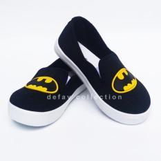 Harga Sepatu Casual Anak Murah Motif Batman Shoes Baru