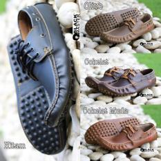 Sepatu Casual Black Master Apolo Pria Murah - Sneakers - Kets - Fashion - Santai