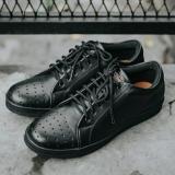 Spesifikasi Sepatu Casual Branded Style Terkini Pria Jack Footwear Orlando Black Yang Bagus Dan Murah