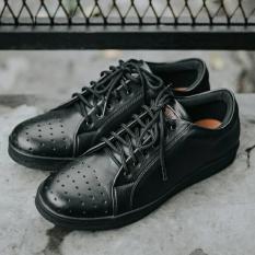 Spesifikasi Sepatu Casual Branded Style Terkini Pria Jack Footwear Orlando Black Lengkap Dengan Harga