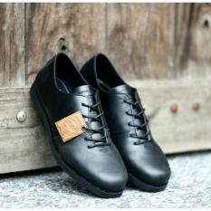 Jual Beli Online Sepatu Casual Formal Pria Kulit Asli Bradleys Houbis Low Black