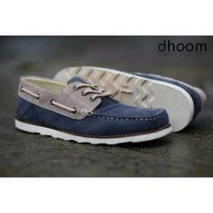 Jual Sepatu Casual Loafers Pria Doom Zapato Navy Abu Original Premium Quality Di Jawa Barat
