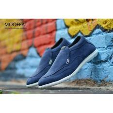 Beli Sepatu Casual Moofeat Boston Santai Simple Slip On Slop Loafers Sneakers Kerja Kantor Pria Murah Promo Terlaris Cowok Sneaker Keren Gaya Formal Pesta Di Banten