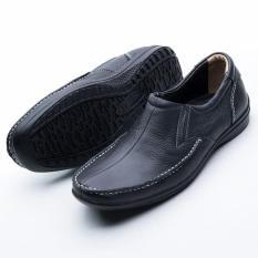 Sepatu Formal Pantofel Kerja Kantor Kulit Asli Pria - BrownIDR154500. Rp 159.000