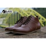 Promo Sepatu Casual Pria Boots Black Master Brodo High Old Brown Monett