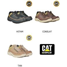 Sepatu Casual Pria CAT Trekking Safety / Touring / Adventure / Formal / Sneakers Cowok Termurah